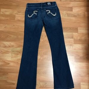 Rock & Republic Jeans - Rock and republic size 24 flare with rhinestone